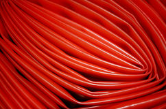 Red tube Stock Photography