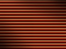 Red tube background dramatically lit Royalty Free Stock Images