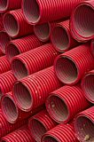 Red tubes Stock Image