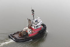 Red Tug Boat Royalty Free Stock Image