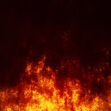 Red turbulence. Background of turbulent red plasma clouds Stock Photography