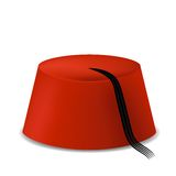 Red Turkish Hat Royalty Free Stock Photography