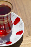Red Turkish tea Stock Photos