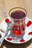 Red Turkish tea Royalty Free Stock Photography