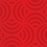 Red turning arcs on checkered background Royalty Free Stock Photography
