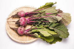 Red turnips Stock Photos