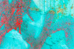 Red and Turquoise Abstract Royalty Free Stock Photos