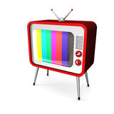 Red TV Stock Photos