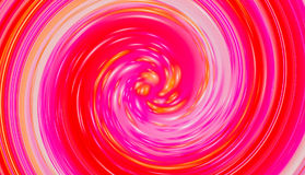 Red twirl circular wave Stock Photo
