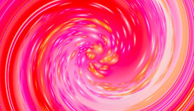 Red twirl circular wave Background. Royalty Free Stock Image