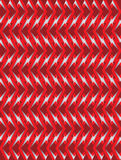Red twisted long rhombus background Stock Photo