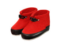 Red uggs Stock Image