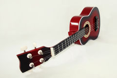 Red Ukulele Acoustic Royalty Free Stock Image