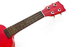 Red Ukulele guitar Royalty Free Stock Image