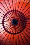 Red Umbrella stock photo