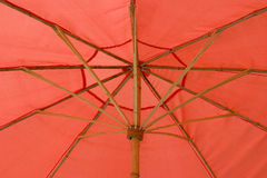 Red umbrella Stock Images