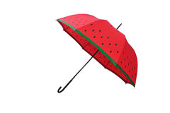 Red umbrella. Stock Image