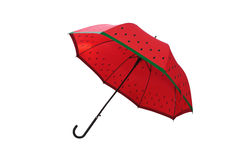 Red umbrella. Stock Photos