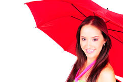 Red Umbrella Royalty Free Stock Image