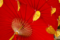 Red umbrella Stock Photos
