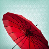 Red Umbrella Background Royalty Free Stock Photo