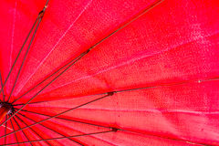 Red umbrella frame. Stock Image
