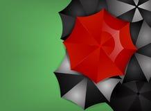 Red umbrella Royalty Free Stock Photos