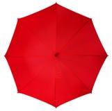 Red umbrella isolated Stock Photos