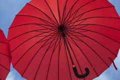 Red umbrella Royalty Free Stock Photography