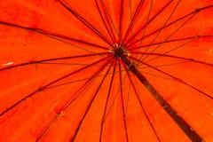 Red umbrella texture Royalty Free Stock Photos