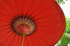 Red Umbrella Stock Photo