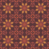 Red universal vector seamless patterns, tiling. Geometric ornaments. Royalty Free Stock Photo