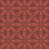 Red universal vector seamless patterns, tiling. Geometric ornaments. Stock Image