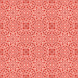 Red universal vector seamless patterns, tiling. Geometric ornaments. Royalty Free Stock Images