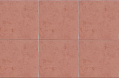 Red Unpolished Mable Tile Royalty Free Stock Photos