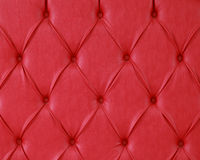 Red upholstery Stock Photography