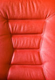 Red upholstery Royalty Free Stock Images