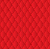 Red upholstery background. Stock Photos