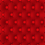 Red upholstery leather Stock Photography
