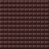 Red Upholstery Leather Seamless Pattern. Hyper Realistic Illustration Stock Image