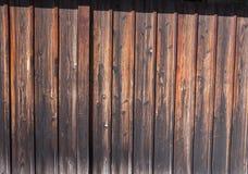 Red ut gamla Wood plankor Royaltyfri Bild