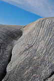 red ut gråa rocks Fotografering för Bildbyråer
