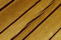 Red ut orange wood plankor Arkivbild
