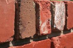 Red ut tegelstenar som är architectual royaltyfri fotografi