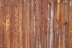 Red ut trästaketbräden, oavslutat trä arkivbilder