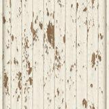 Red ut vit målade träplankor Royaltyfri Fotografi