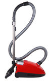 Red vacuum cleaner Stock Photography