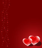 Red valentine background Royalty Free Stock Photos