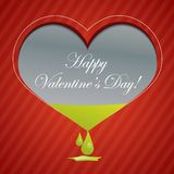 Red valentine background with area for text Stock Photo