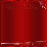 Red valentine background Royalty Free Stock Images